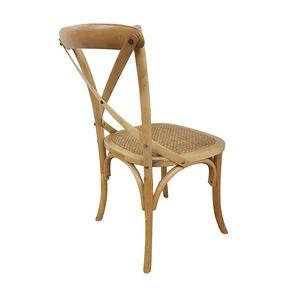 Chaise bistrot en bouleau massif - Visuel n°8