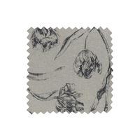 Tissu au mètre motif tulipes