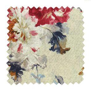 Tissu au mètre motif jardin anglais