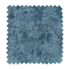 Tissu au mètre velours bleu
