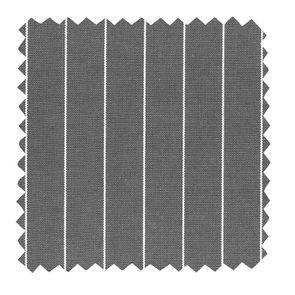 Tissu au mètre gris motif rayure tennis