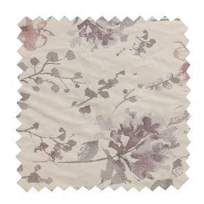 Tissu au mètre motif fleurs opalines