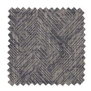 Tissu au mètre motif mosaïque indigo
