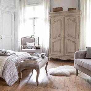 Armoire 2 portes en pin massif - Château