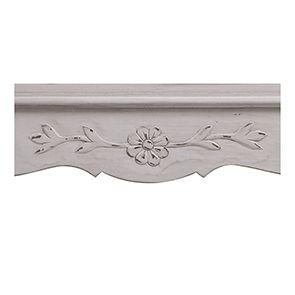 Buffet bas 2 portes en pin blanc opaline vieilli - Château - Visuel n°3