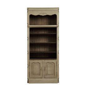 Bibliothèque modulable 2 portes en pin - Château
