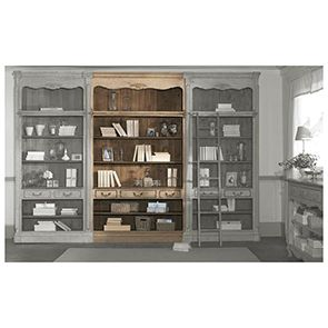 Bibliothèque modulable 3 tiroirs en pin - Château