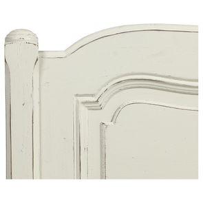 Tête de lit 160 en pin massif blanc vieilli - Château - Visuel n°8