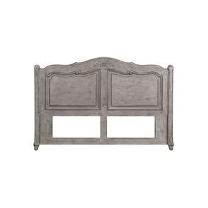 Tête de lit 160 en pin massif gris argenté - Château