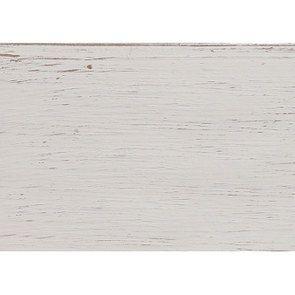 Table de chevet 1 tiroir 1 porte en pin blanc vieilli - Château - Visuel n°13