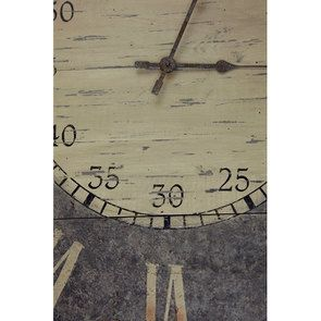 Horloge en bois vieilli - Visuel n°5