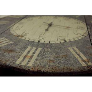 Horloge en bois vieilli - Visuel n°3