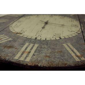 Horloge en bois vieilli - Visuel n°4