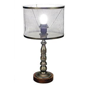 Lampe industrielle en métal H44 cm
