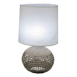 Lampe en rotin XL - Visuel n°1