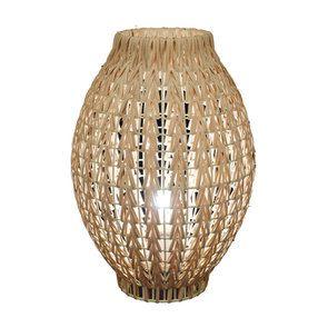 Lampe à poser en rotin H36 cm - Visuel n°4
