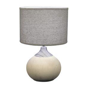 Lampe en porcelaine mate H44