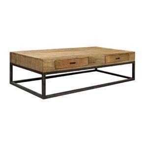 Table basse rectangulaire industrielle - Transition - Visuel n°6