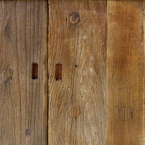 Bout de canapé industriel en orme et métal - Transition - Visuel n°4