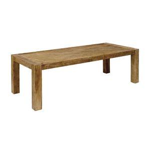 Table industrielle rectangulaire 6 personnes - Transition
