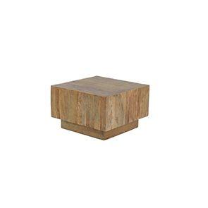 Table basse carrée industrielle - Transition - Visuel n°3