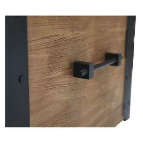 Table basse coffre industrielle en orme recyclé - Transition - Visuel n°9