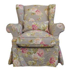 Housse pour fauteuil en tissu à motif nancy - Brisbane