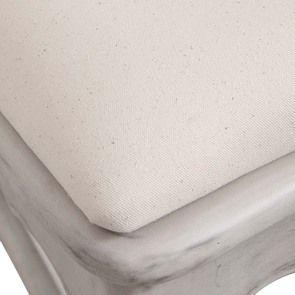 Chaise Jeanne en tissu et pin massif gris argenté - Château - Visuel n°8