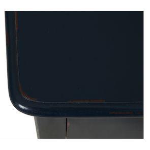 Table de chevet bleu indigo 1 tiroir en épicéa - Visuel n°9