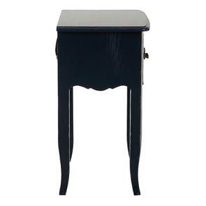 Table de chevet bleu indigo 1 tiroir en épicéa - Visuel n°5