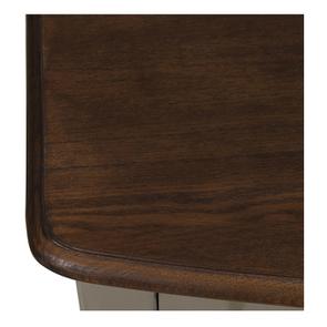 Console grise plateau en bois 3 tiroirs en épicéa - Visuel n°9
