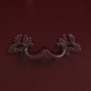 Console lie de vin plateau en bois 3 tiroirs en épicéa - Visuel n°12