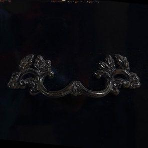 Commode chiffonnier 5 tiroirs noir graphite glossy - Visuel n°11
