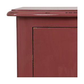 Commode semainier rose vieilli 5 tiroirs - Visuel n°3