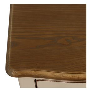 Commode chiffonier lin glossy 5 tiroirs - Visuel n°9
