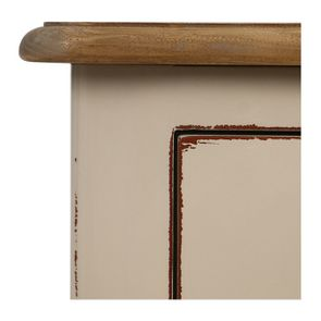 Commode chiffonier lin glossy 5 tiroirs - Visuel n°10