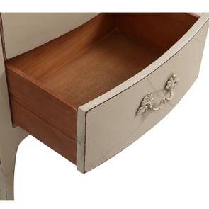 Commode chiffonier lin glossy 5 tiroirs - Visuel n°12