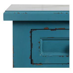 Commode chiffonnier bleu turquoise 6 tiroirs - Visuel n°9
