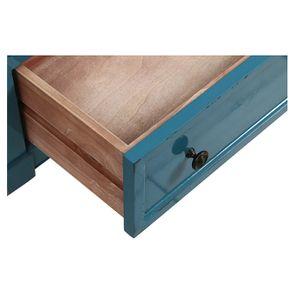 Commode chiffonnier bleu turquoise 6 tiroirs - Visuel n°10