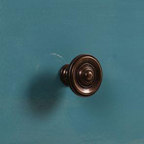 Commode chiffonnier bleu turquoise 6 tiroirs - Visuel n°11