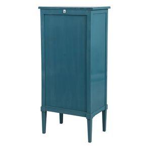 Commode chiffonnier bleu turquoise 6 tiroirs - Visuel n°6