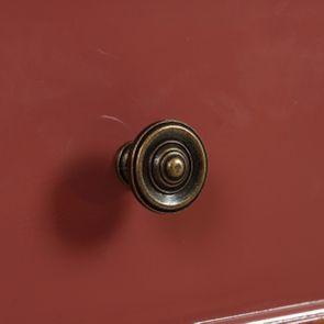 Commode chiffonier vieux rose glossy 6 tiroirs - Visuel n°11