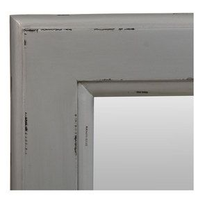 Miroir rectangulaire silver glossy