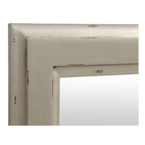 Miroir rectangulaire gris fumé glossy