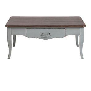 Table basse rectangulaire verte sauge - Visuel n°6