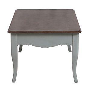 Table basse rectangulaire verte sauge - Visuel n°7