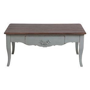 Table basse rectangulaire verte sauge - Visuel n°9