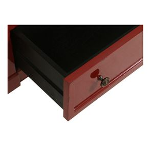 Petite commode 3 tiroirs en épicéa rouge Séville et plateau bois - Visuel n°11