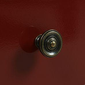 Petite commode 3 tiroirs en épicéa rouge Séville et plateau bois - Visuel n°12