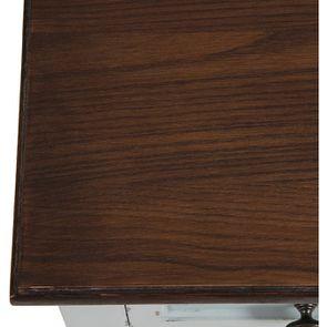 Petite commode 3 tiroirs vert sauge glossy - Visuel n°9